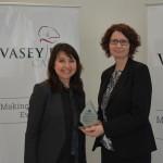 CEO Janna Voloshin and GM HR Susan Marsenic