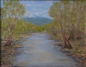 Nan Jones - River landscape cropped